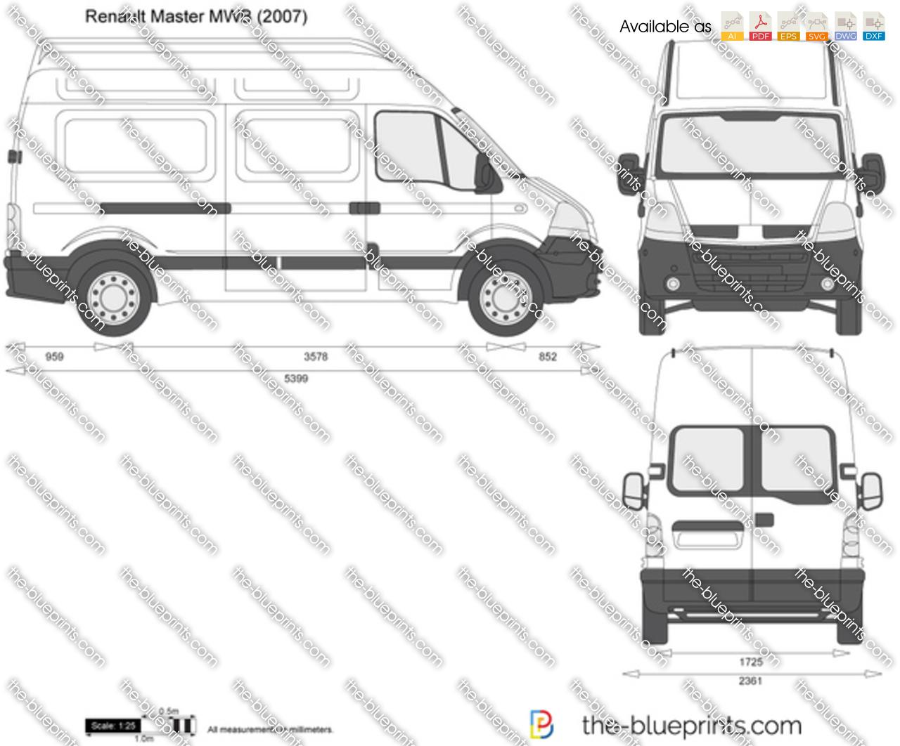 Renault Master MWB