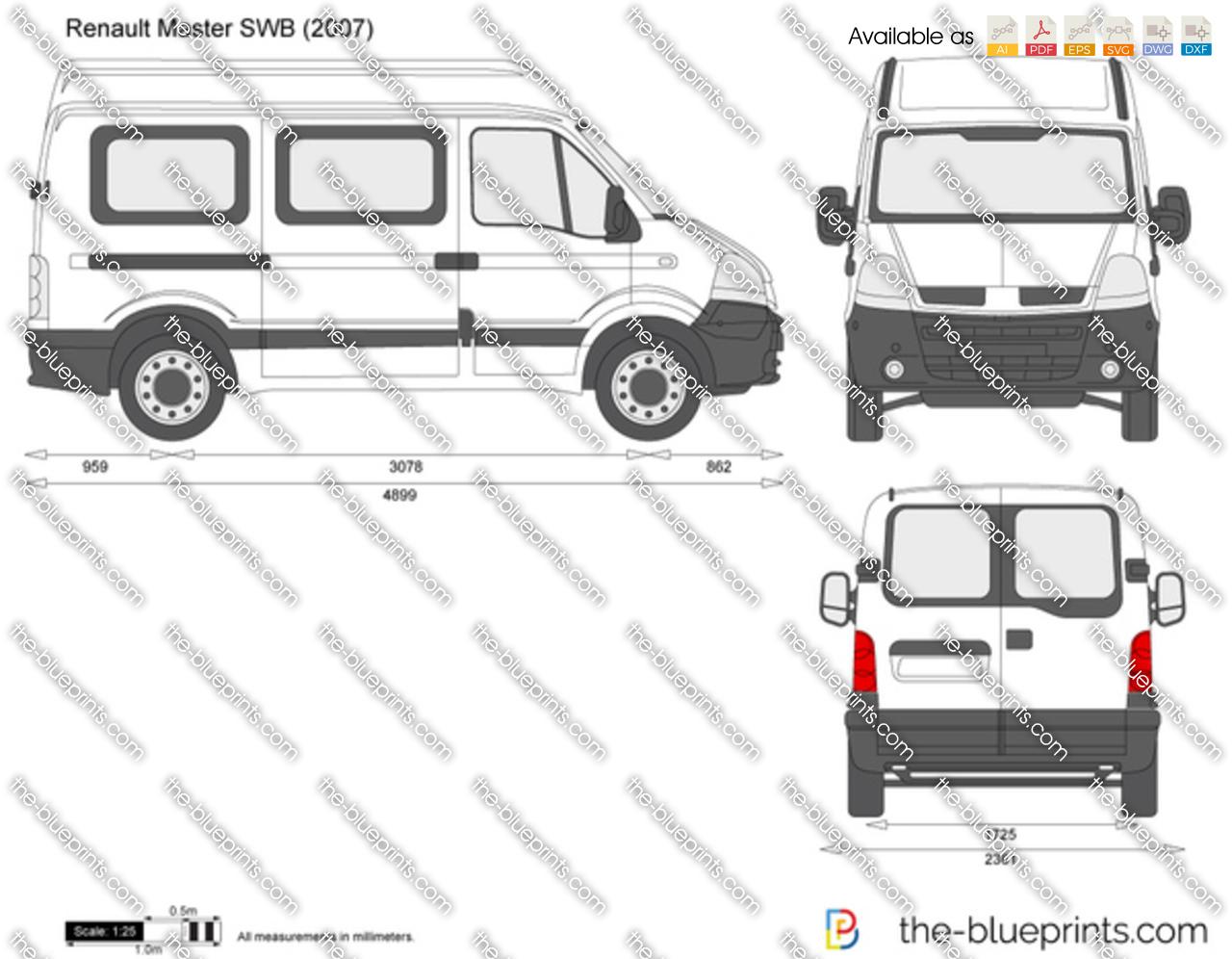 Renault Master SWB 2004