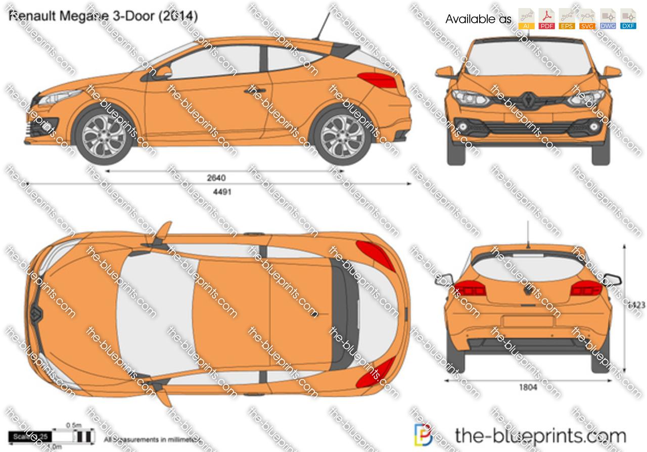 Renault Megane 3-Door 2008