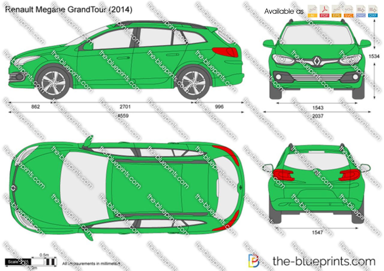 Renault Megane Grand Tour 2015