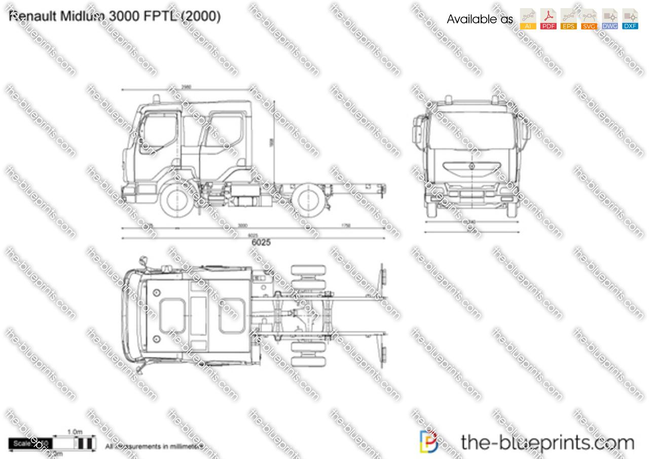 Renault Midlum 3000 FPTL