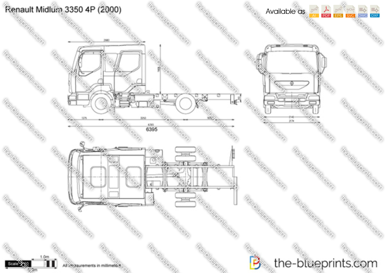 Renault Midlum 3350 4P