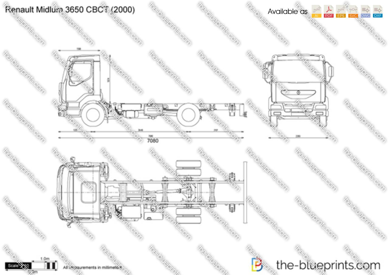 Renault Midlum 3650 CBCT