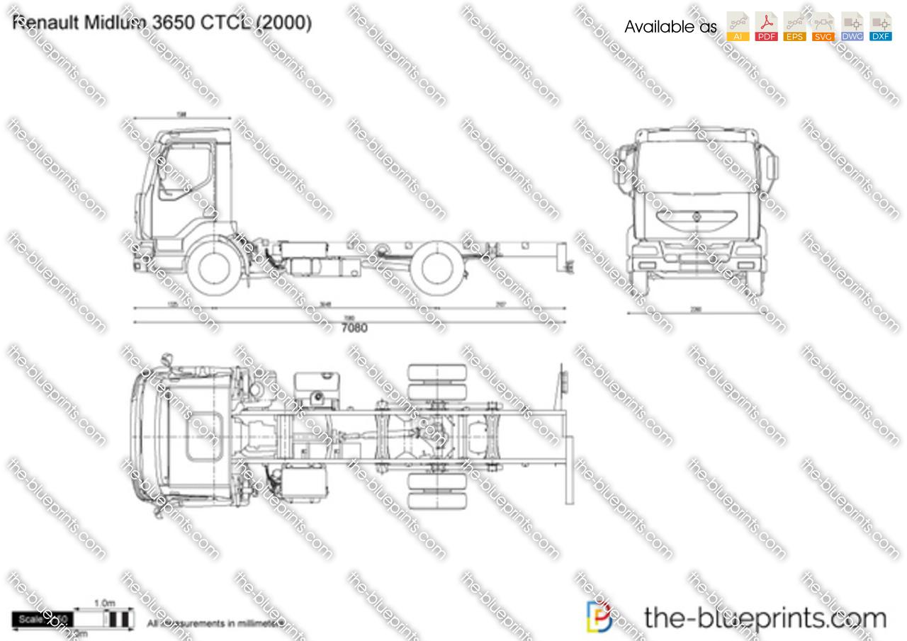 Renault Midlum 3650 CTCL