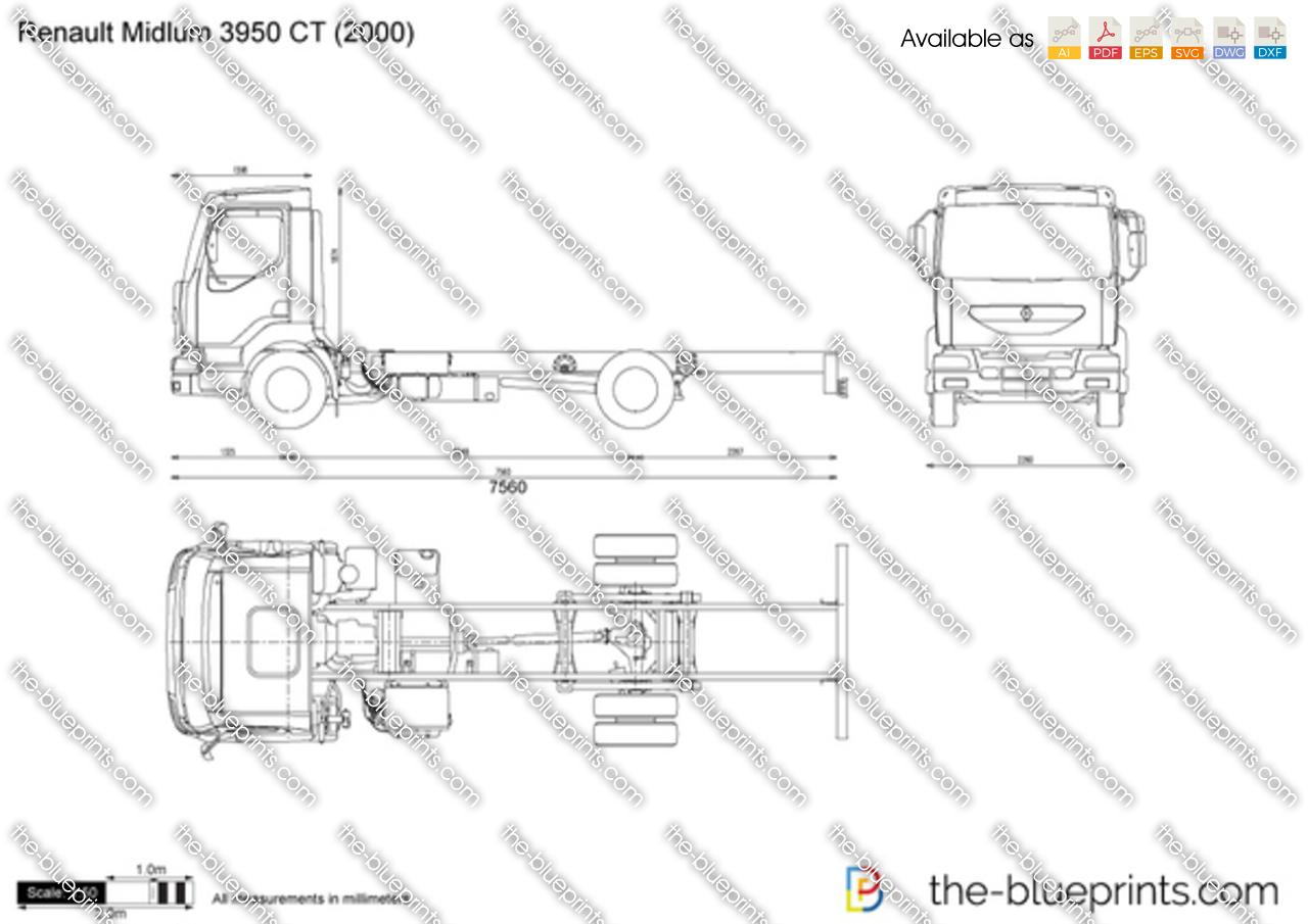 Renault Midlum 3950 CT