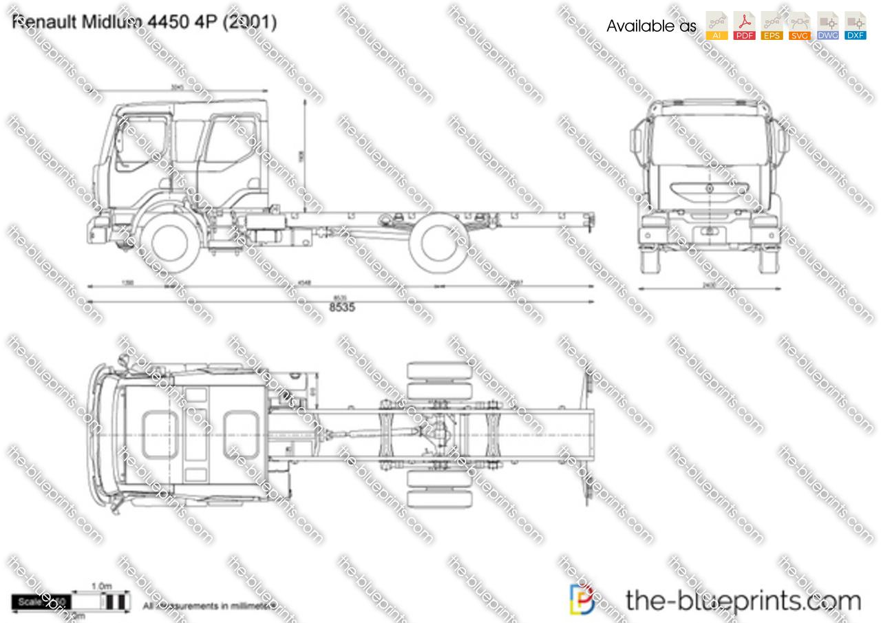 Renault Midlum 4450 4P