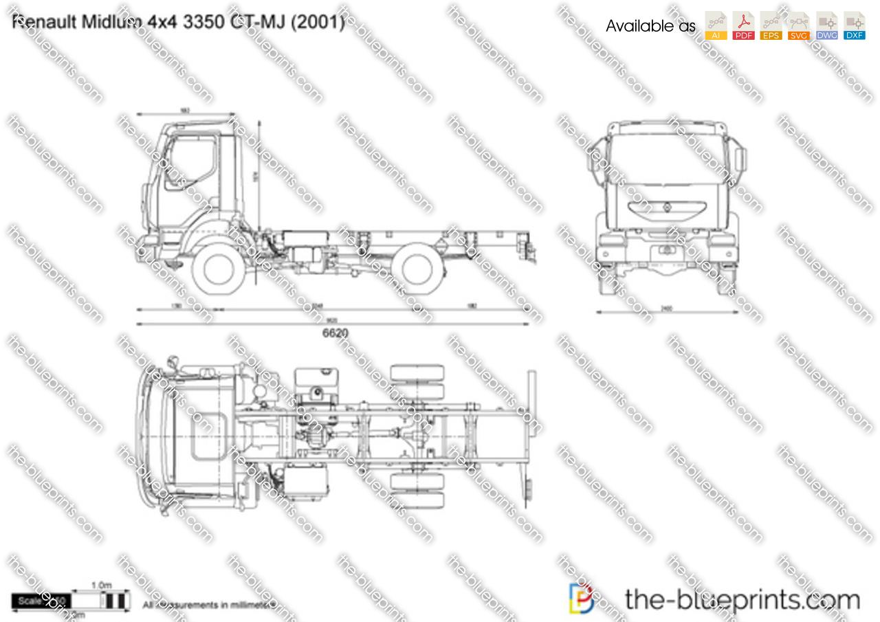 Renault Midlum 4x4 3350 CT-MJ
