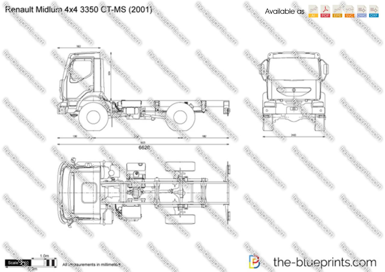 Renault Midlum 4x4 3350 CT-MS