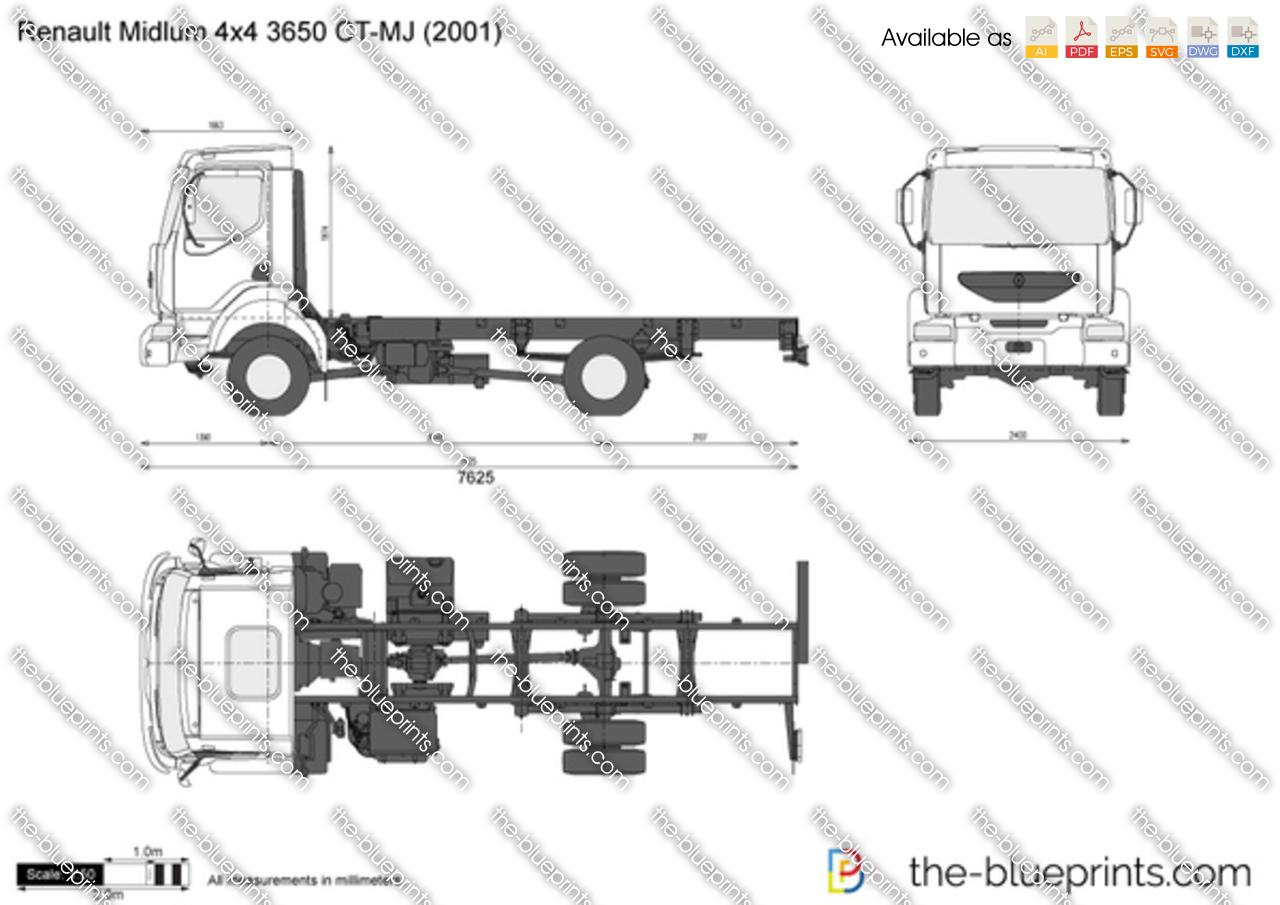 Renault Midlum 4x4 3650 CT-MJ