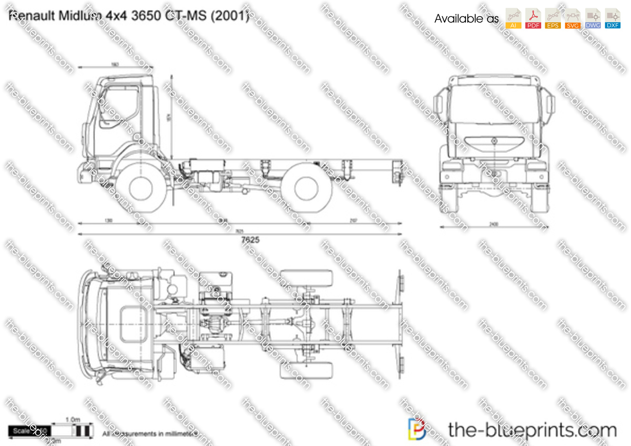 Renault Midlum 4x4 3650 CT-MS