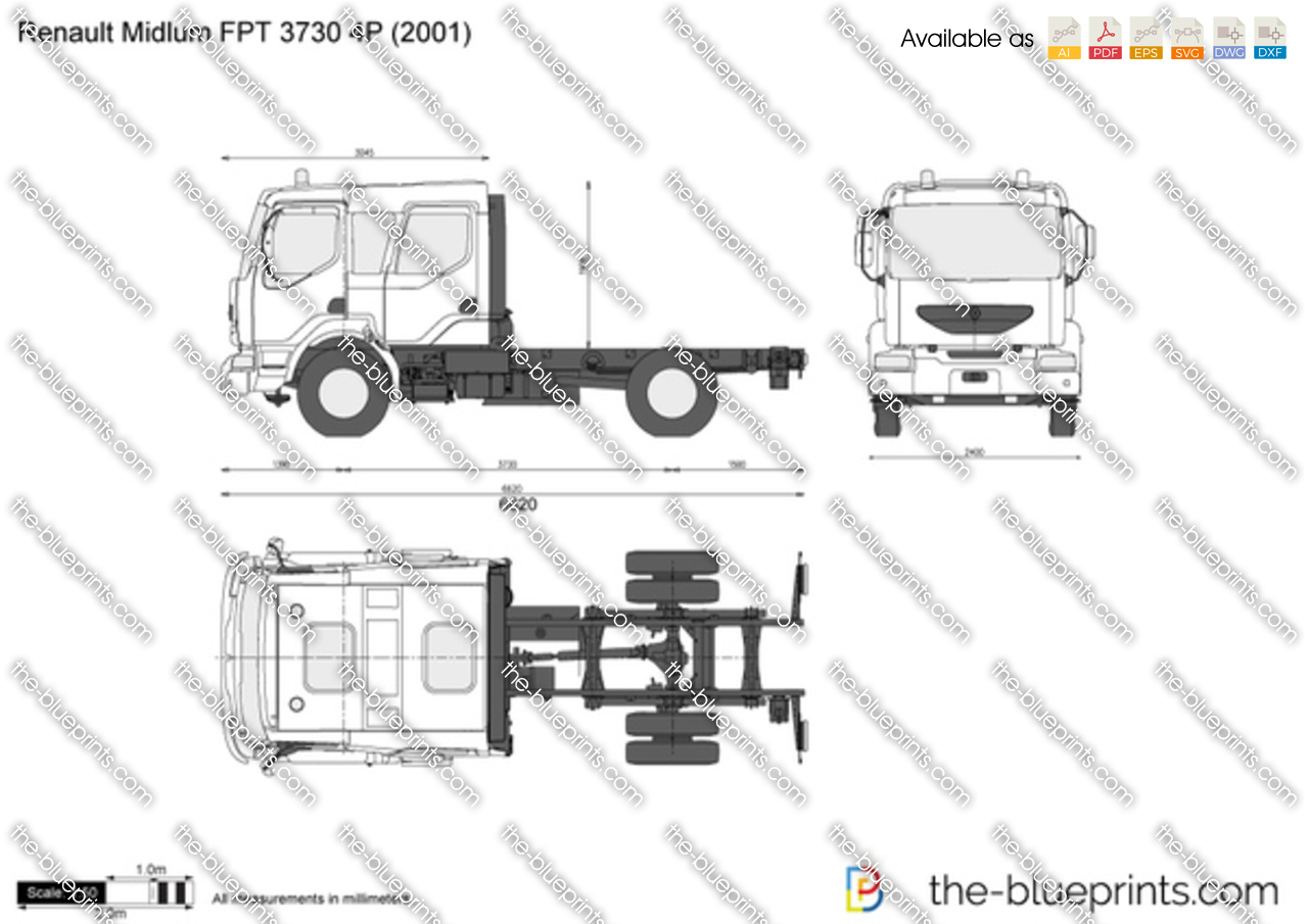 Renault Midlum FPT 3730 4P