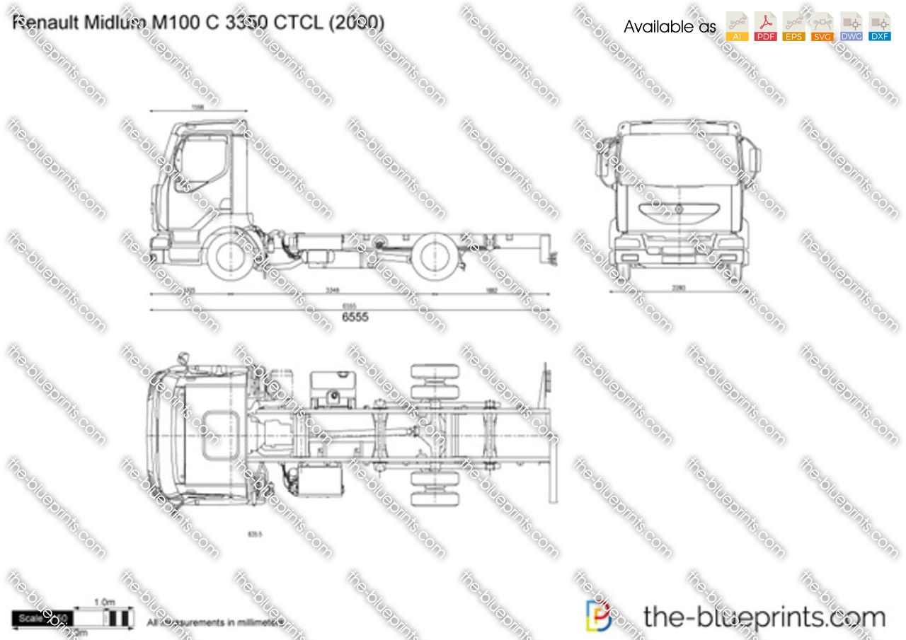 Renault Midlum M100 C 3350 CTCL