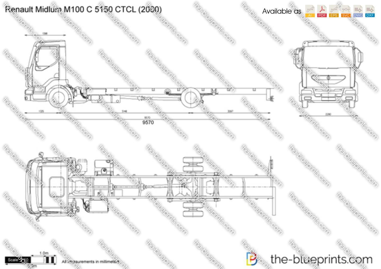 Renault Midlum M100 C 5150 CTCL