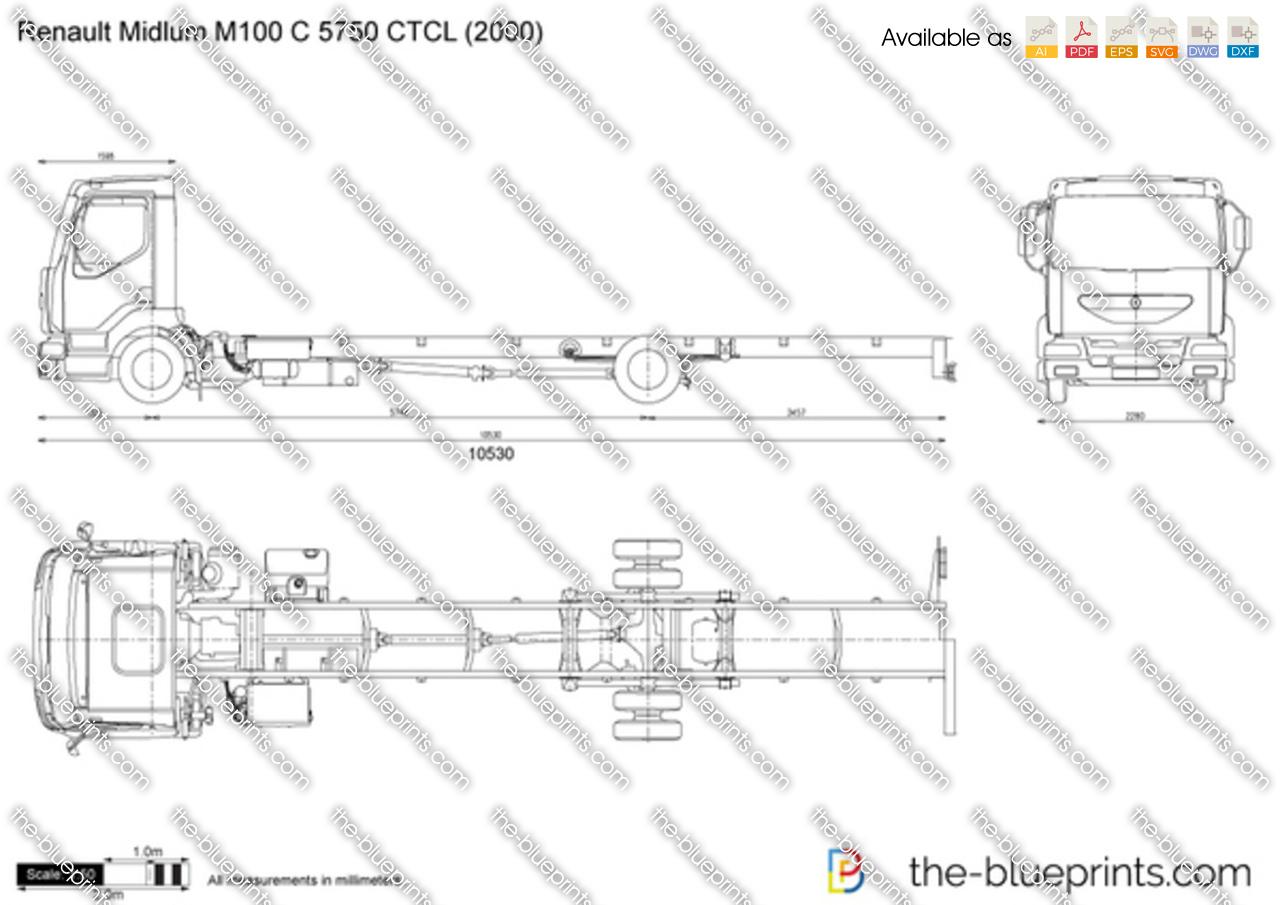 Renault Midlum M100 C 5750 CTCL