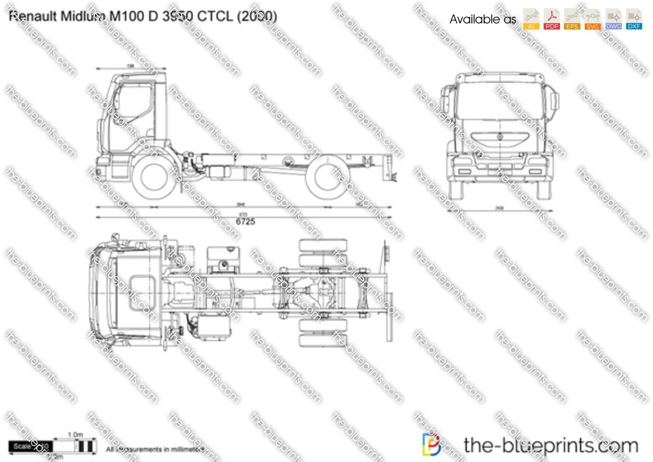 Renault Midlum M100 D 3950 CTCL