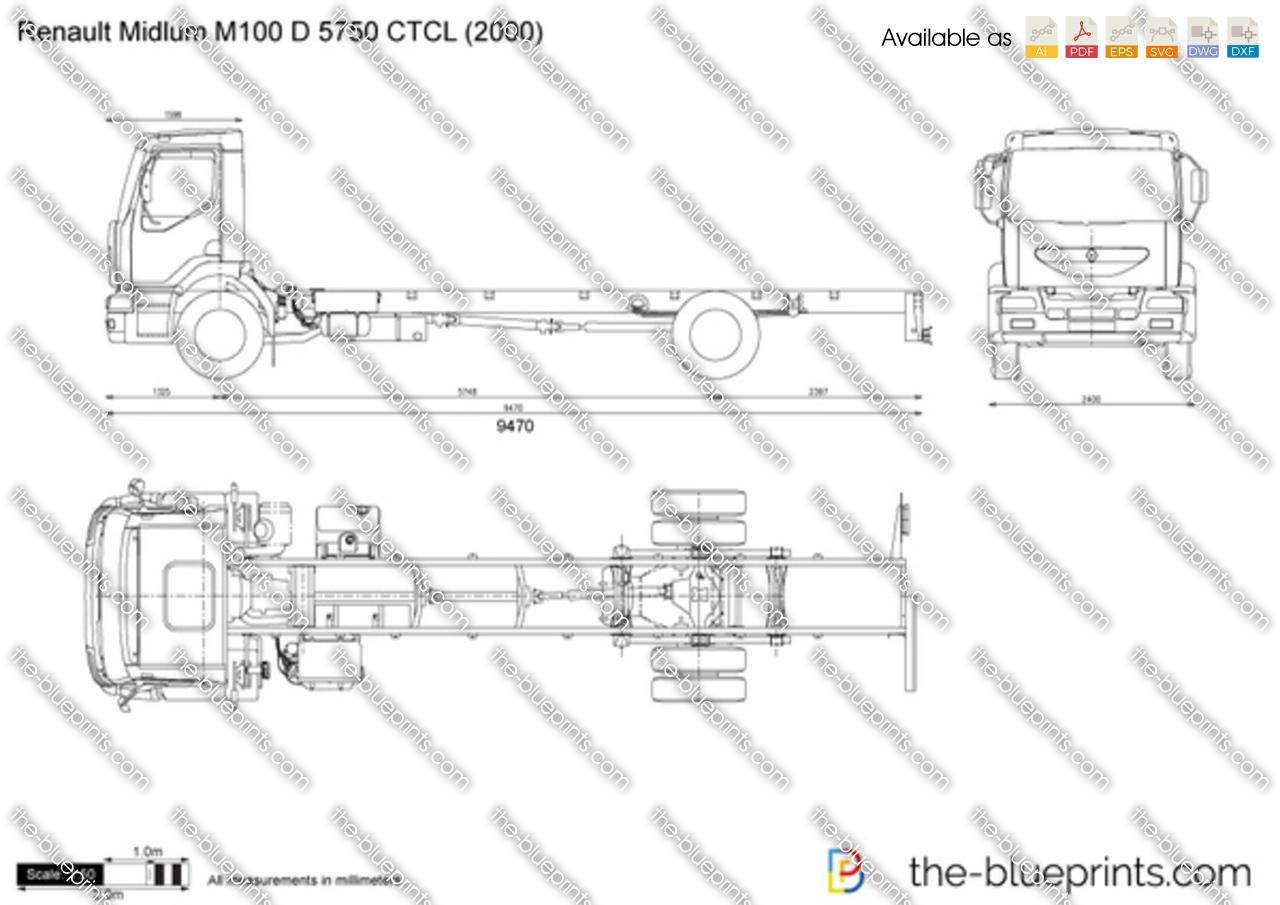 Renault Midlum M100 D 5750 CTCL