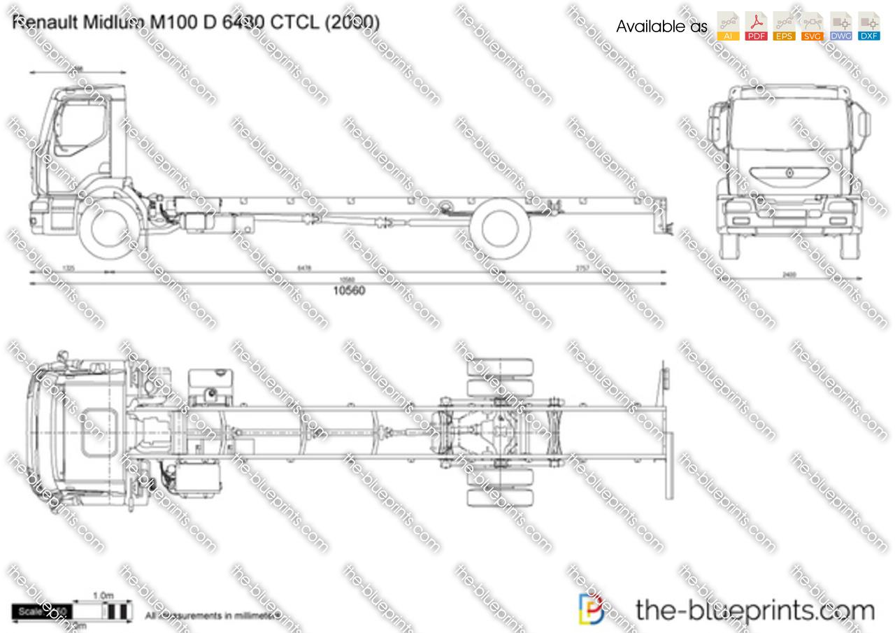 Renault Midlum M100 D 6480 CTCL
