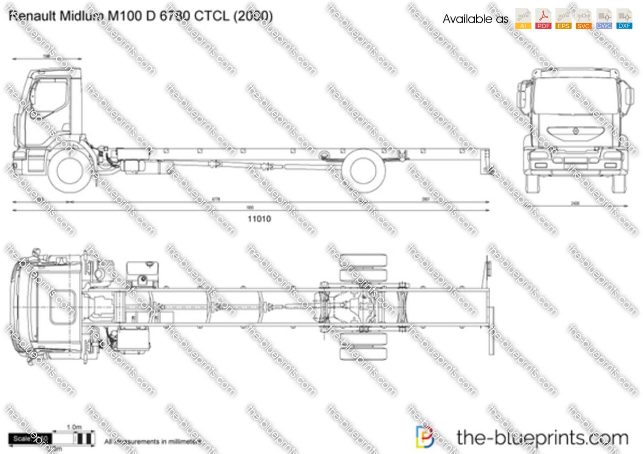 Renault Midlum M100 D 6780 CTCL