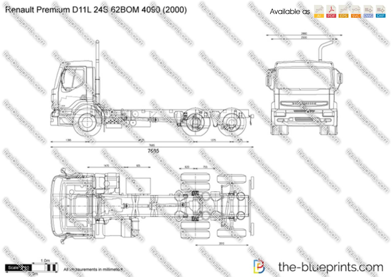 Renault Premium D11L 24S 62BOM 4090