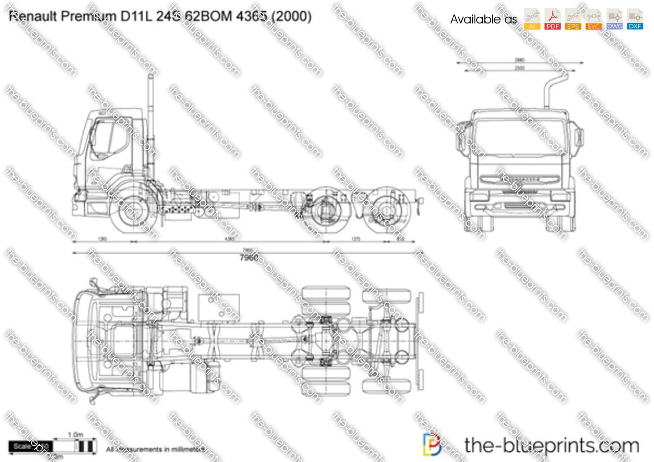 Renault Premium D11L 24S 62BOM 4365