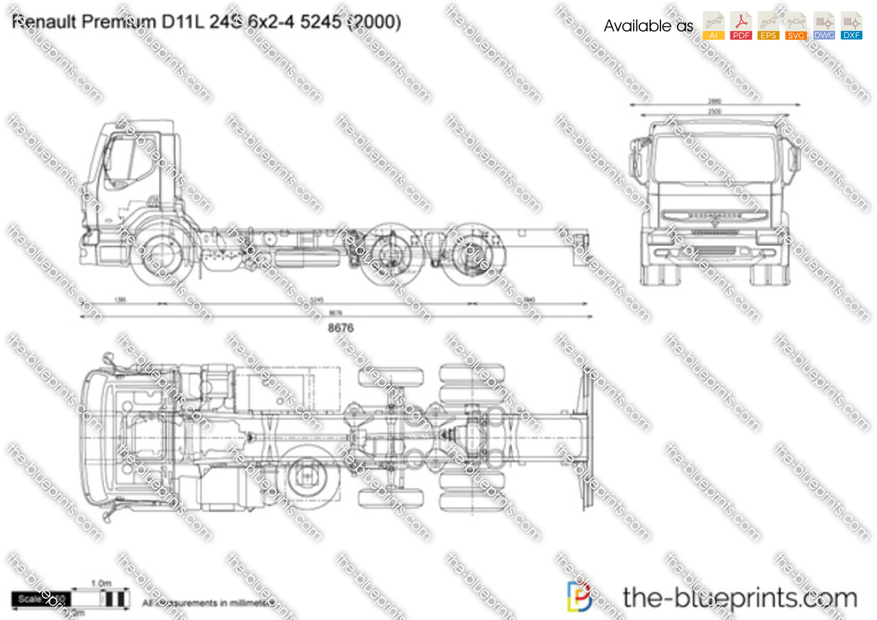 Renault Premium D11L 24S 6x2-4 5245