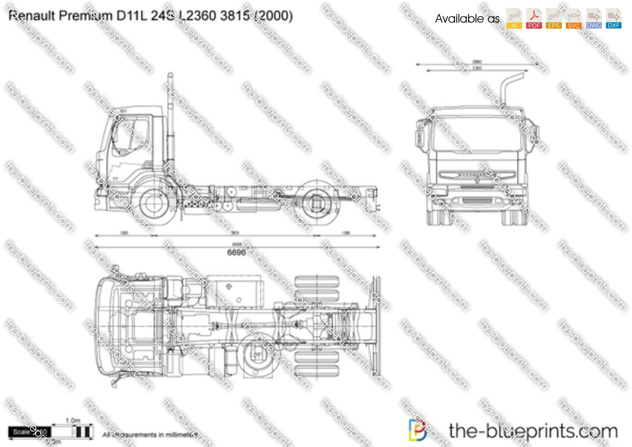 Renault Premium D11L 24S L2360 3815