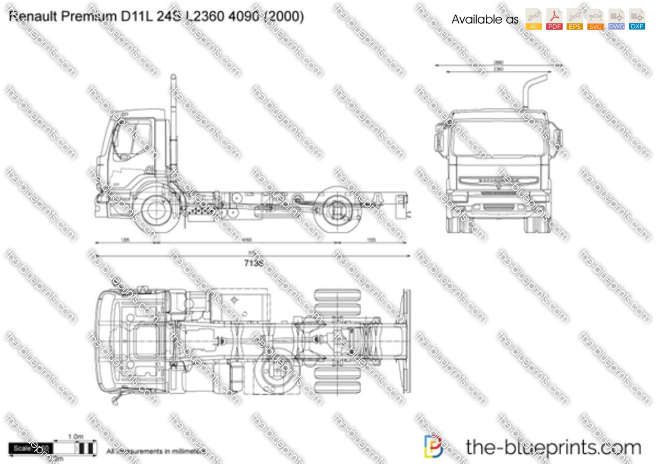 Renault Premium D11L 24S L2360 4090