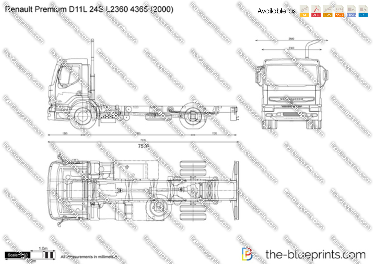 Renault Premium D11L 24S L2360 4365