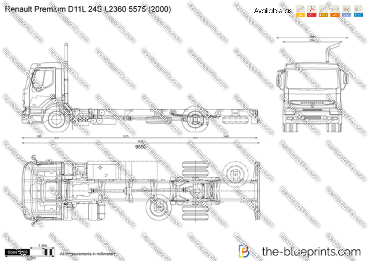 Renault Premium D11L 24S L2360 5575