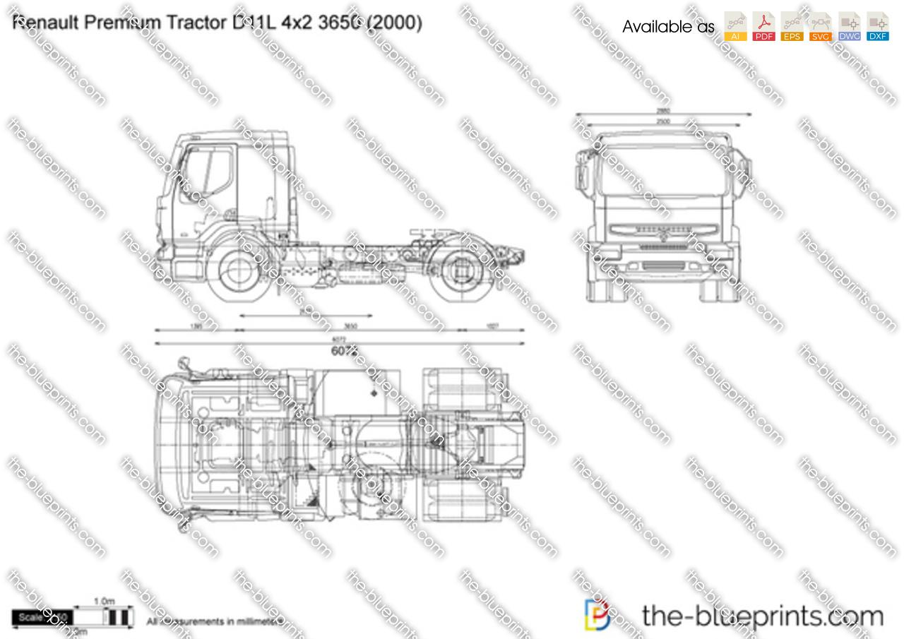 Renault Premium Tractor D11L 4x2 3650