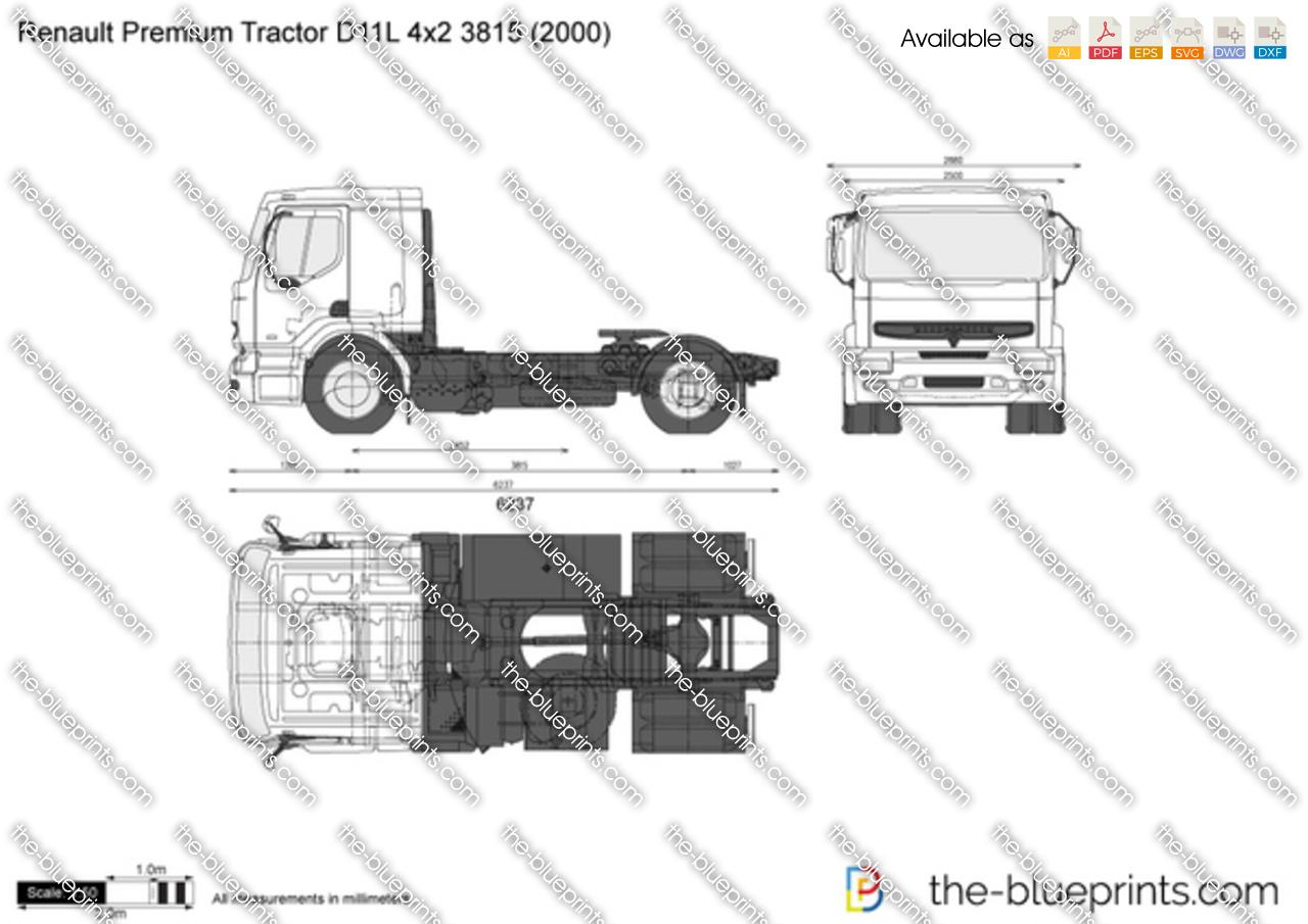 Renault Premium Tractor D11L 4x2 3815