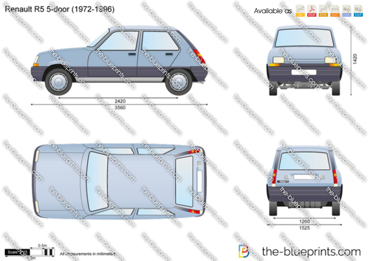 Renault R5 5-door