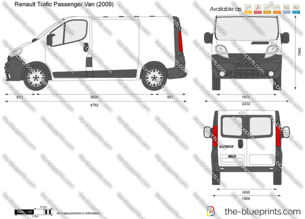 Renault Trafic Passenger Van 2012