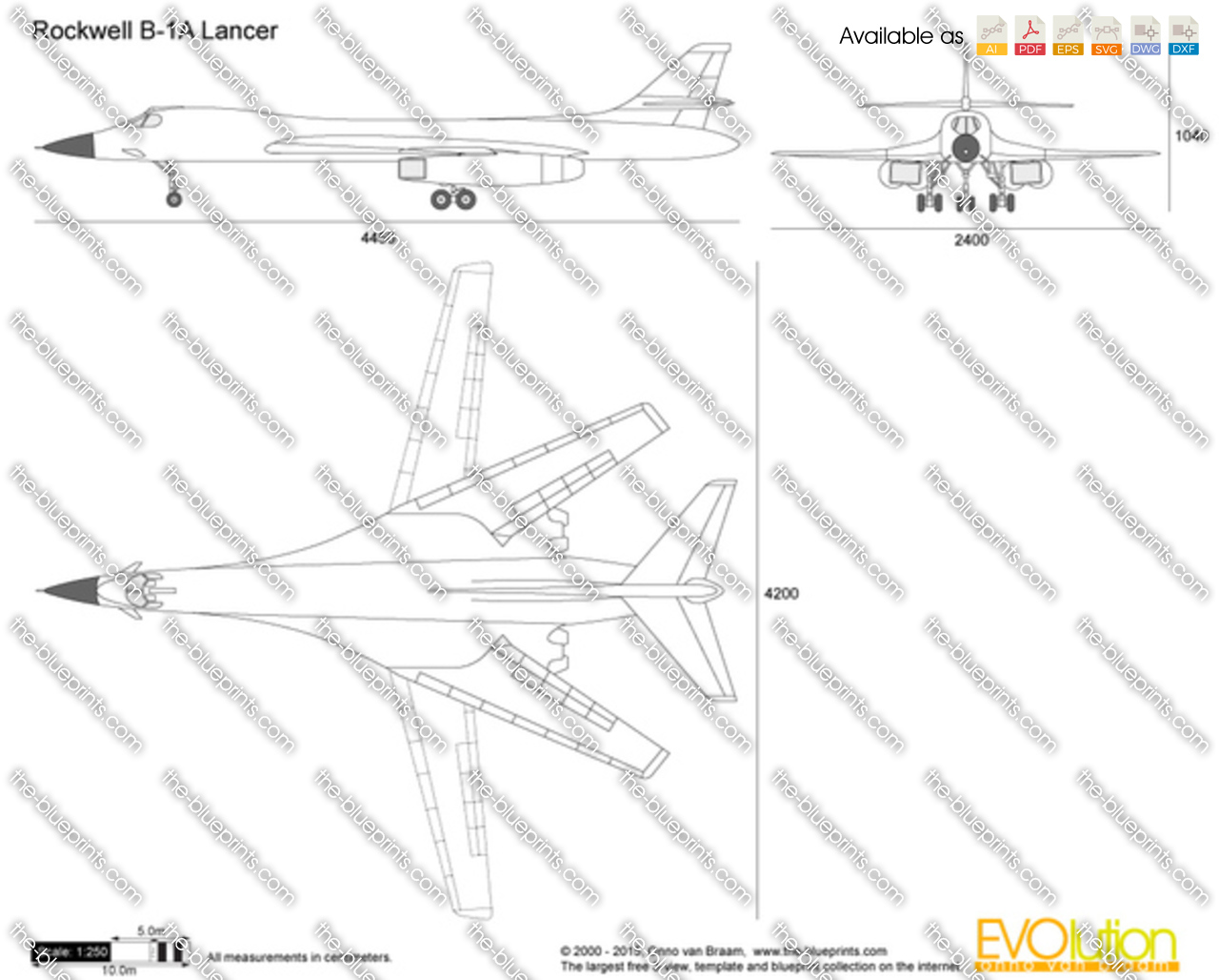 Rockwell B-1A Lancer