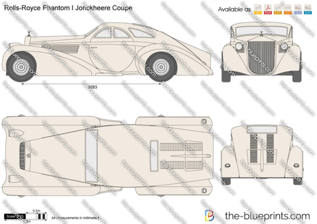 Rolls-Royce Phantom I Jonckheere Coupe