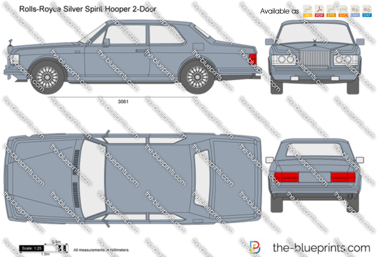 Rolls-Royce Silver Spirit Hooper 2-Door