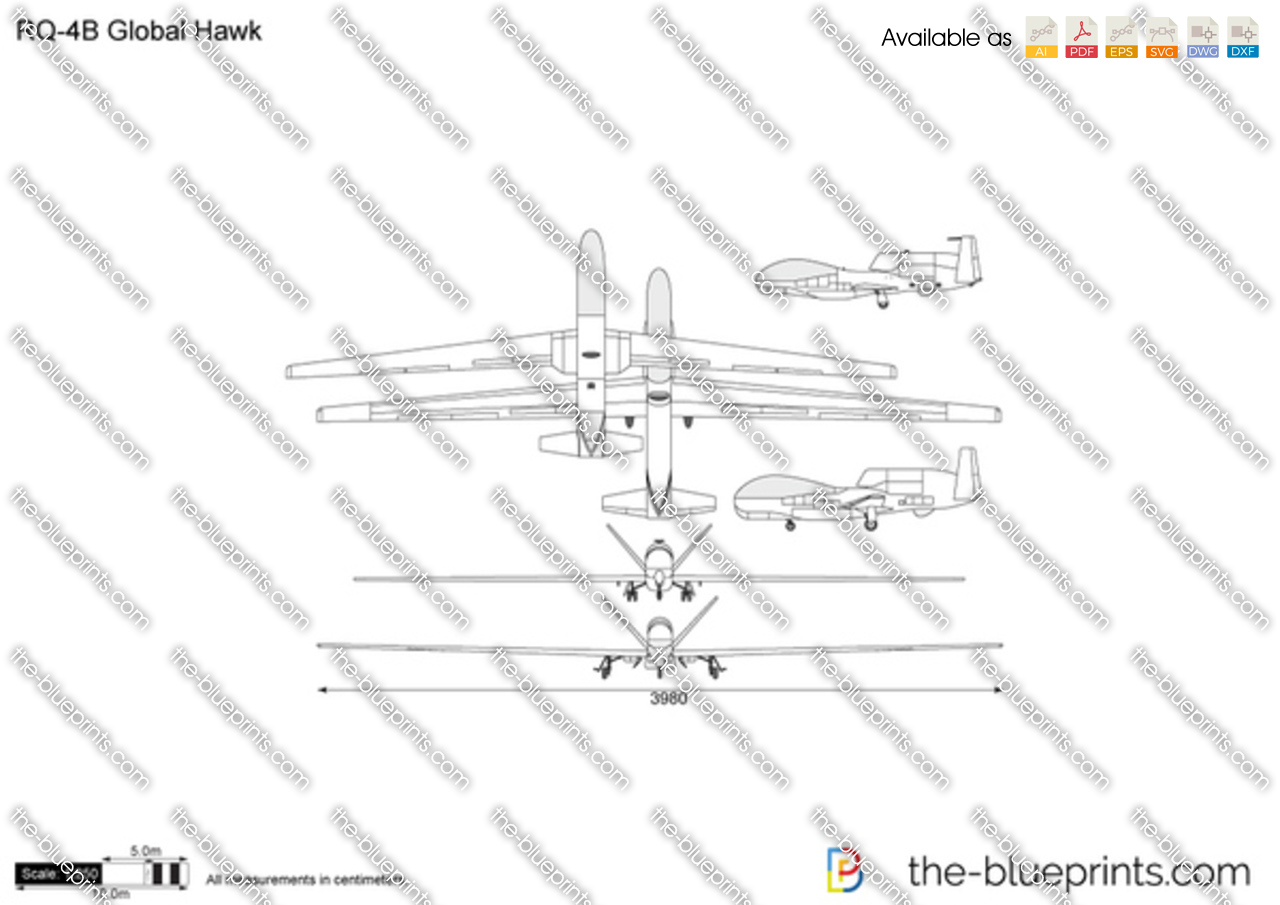 Hawk Line Drawing Rq-4b global hawkGlobal Hawk Drawing