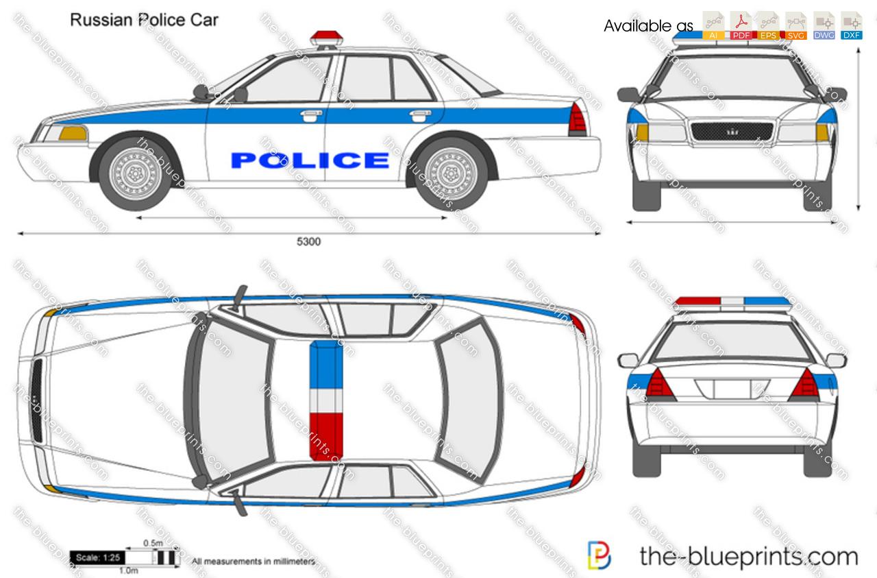 Russian Police Car