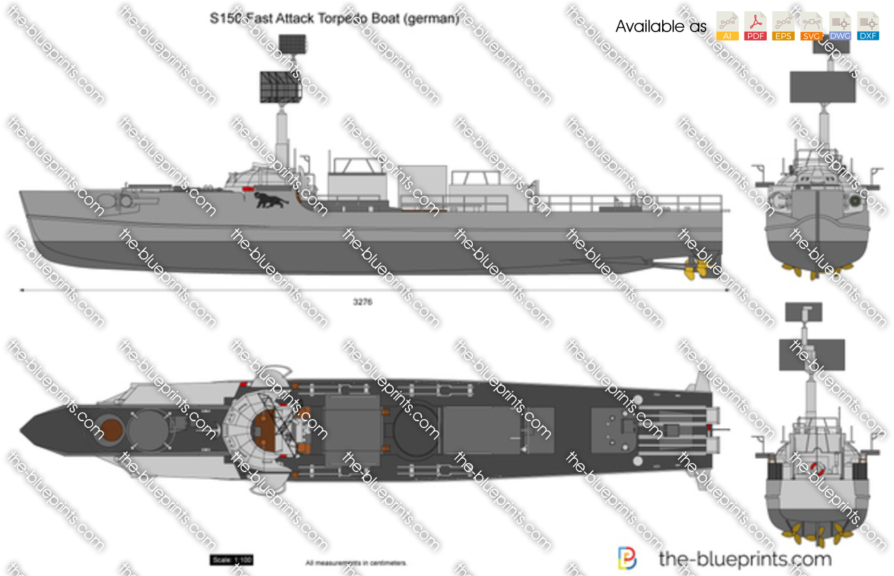 S150 Fast Attack Torpedo Boat (german)