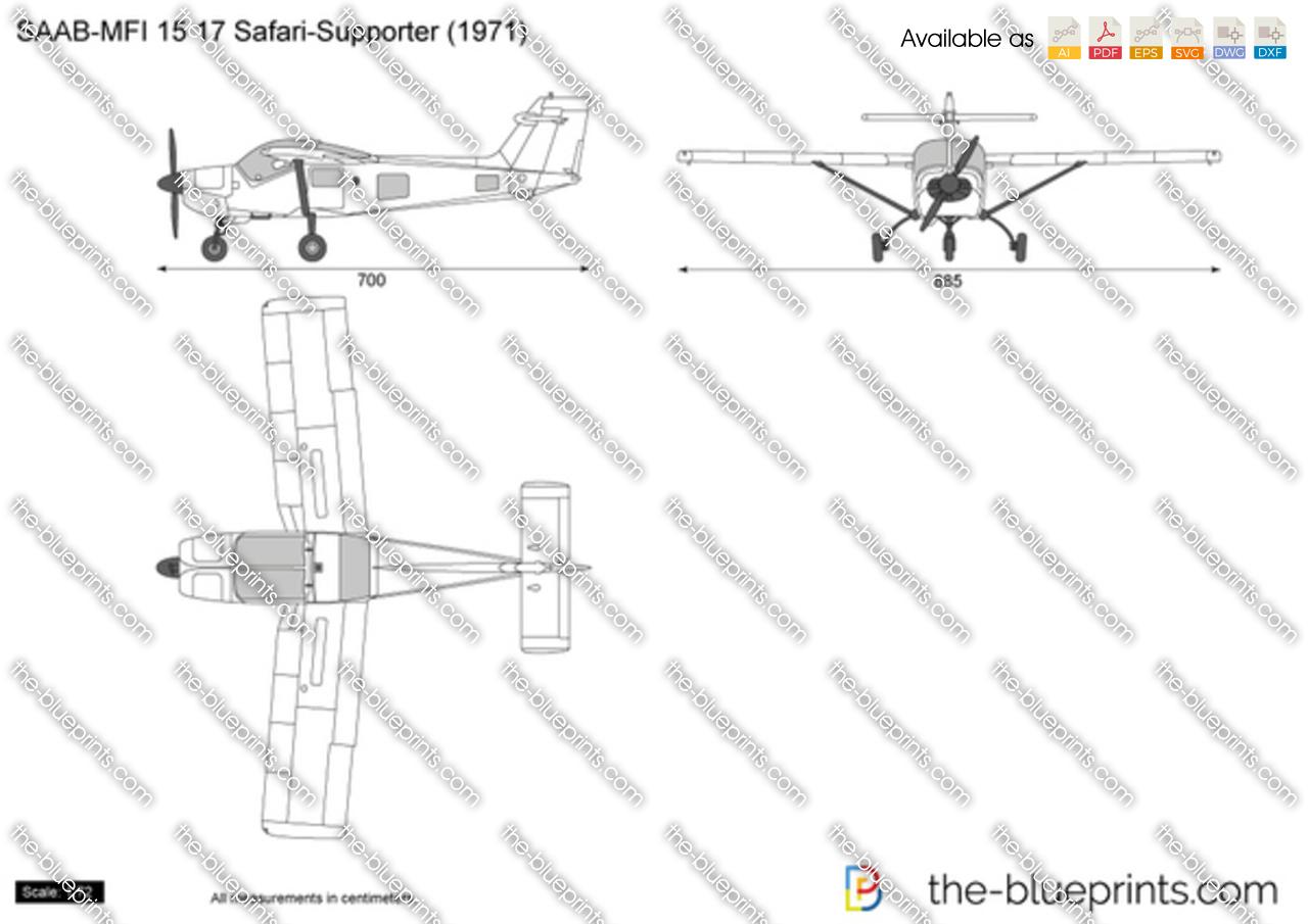 SAAB-MFI 15 17 Safari-Supporter