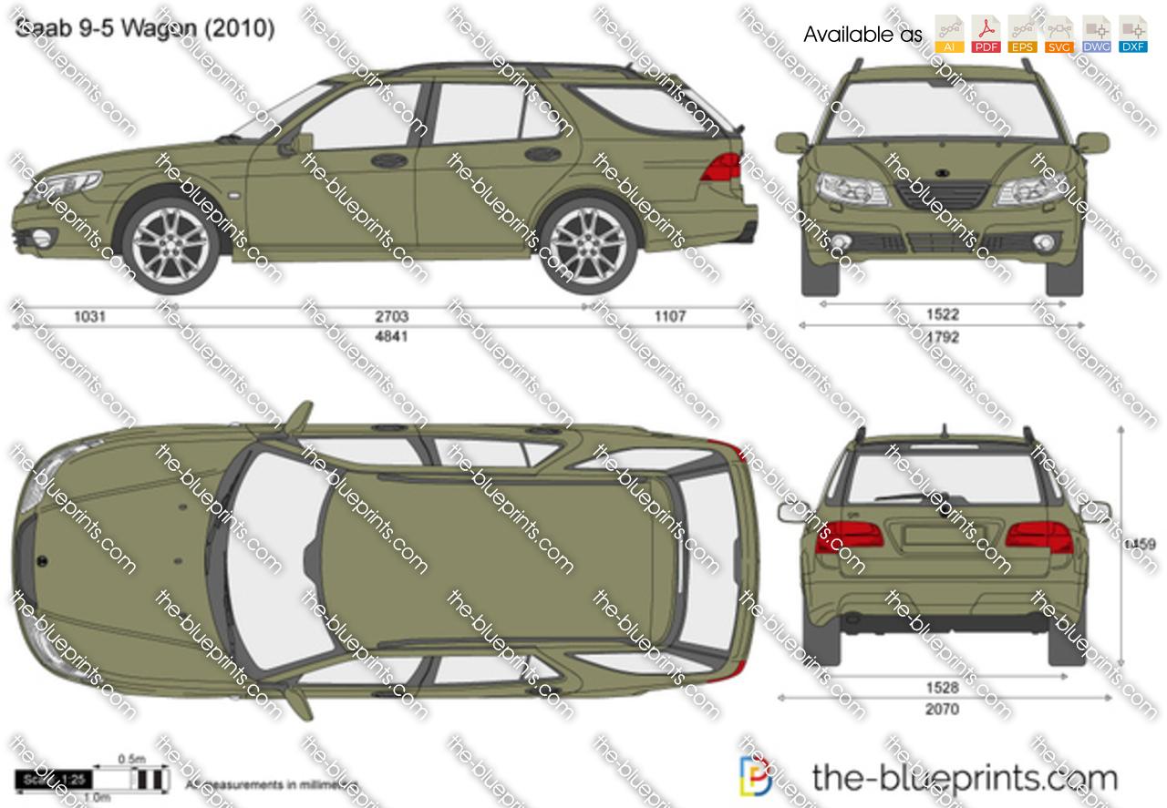 Saab 9-5 Wagon 2011