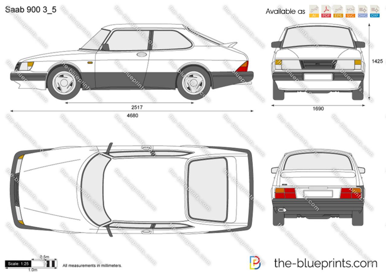 Saab 900 3/5
