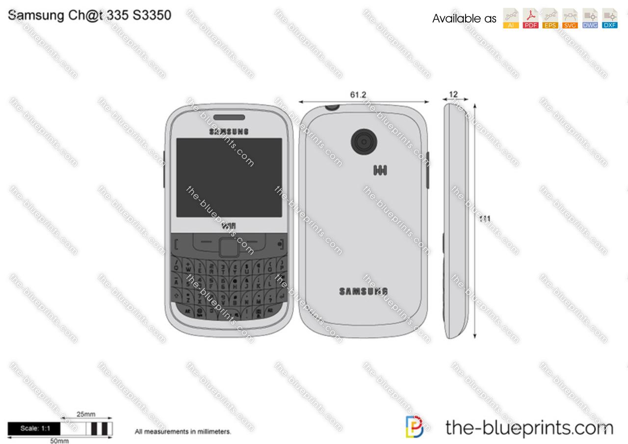 Samsung Ch@t 335 S3350
