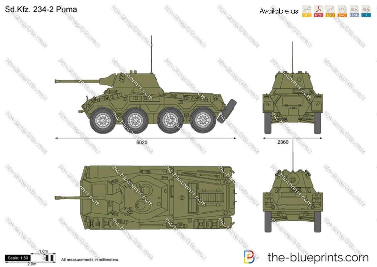 Sd.Kfz. 234-2 Puma