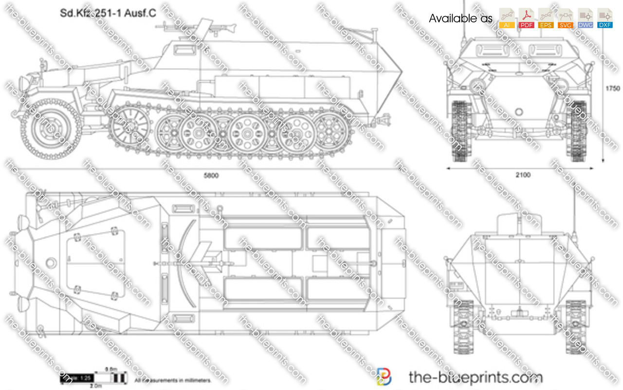 Sd.Kfz. 251-1 Ausf.C