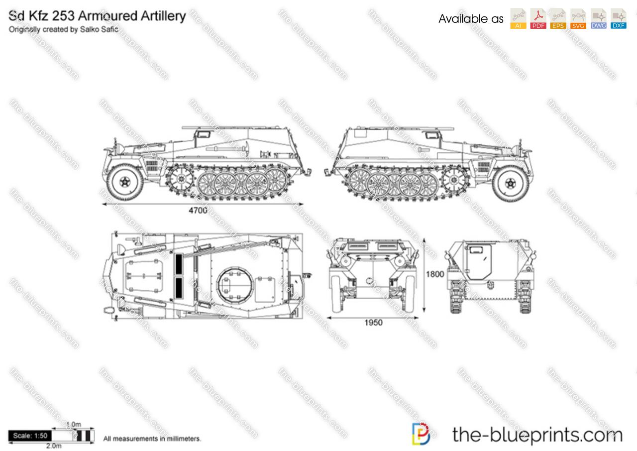 Sd.Kfz. 253 Armoured Artillery
