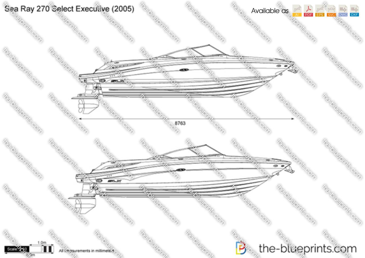 Sea Ray 270 Select Executive