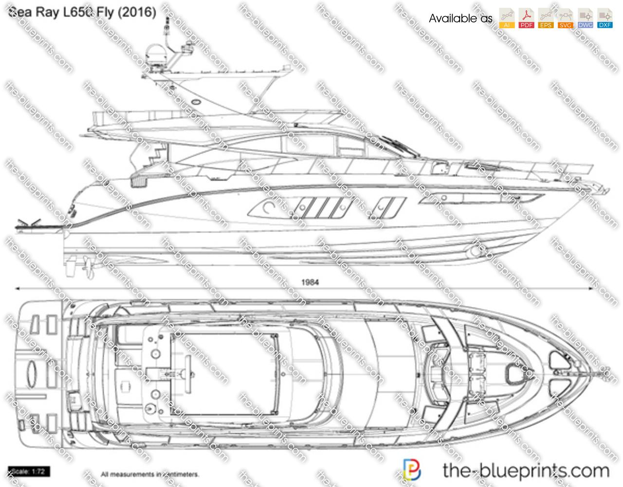 Sea Ray L650 Fly