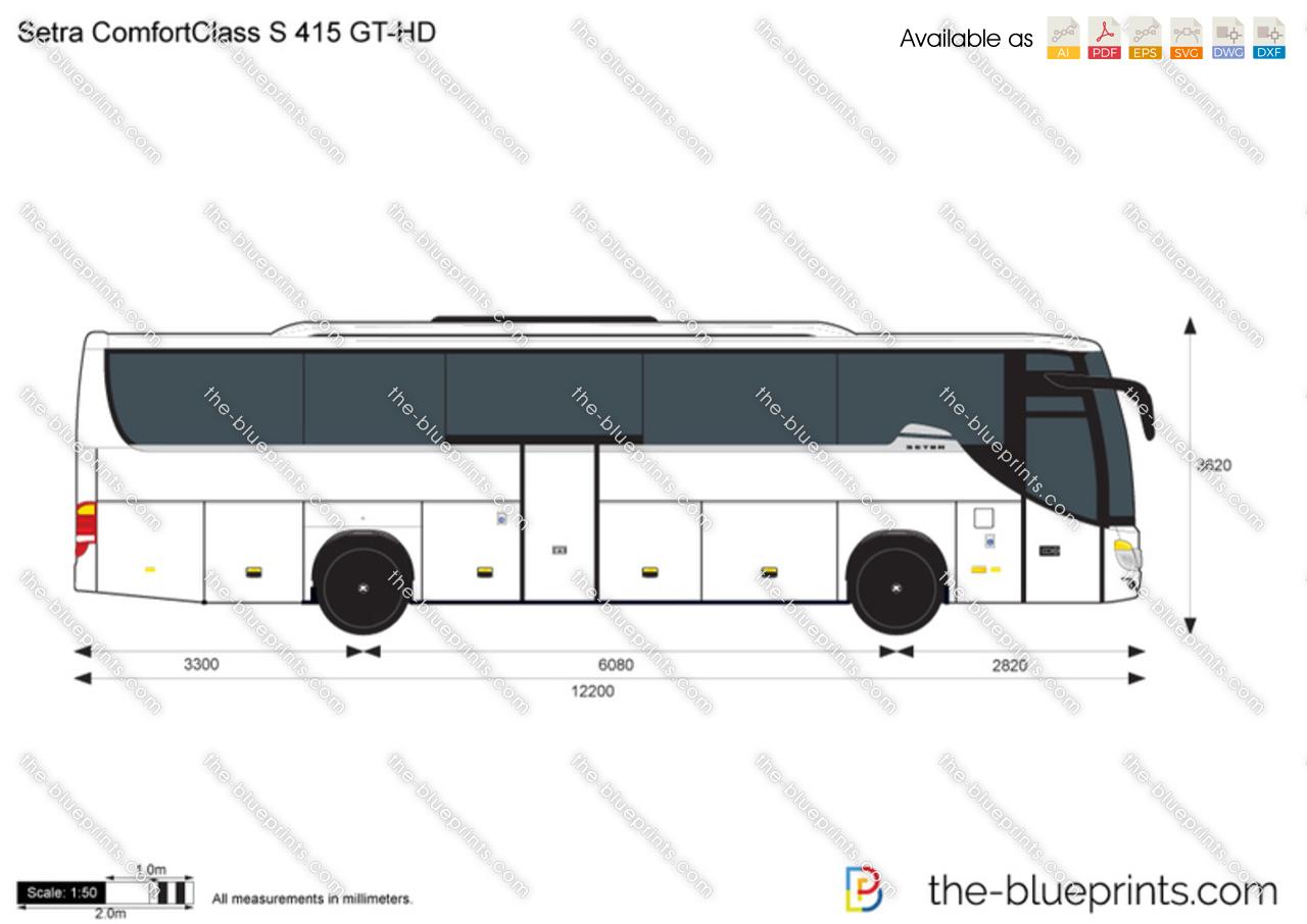 Setra ComfortClass S 415 GT-HD