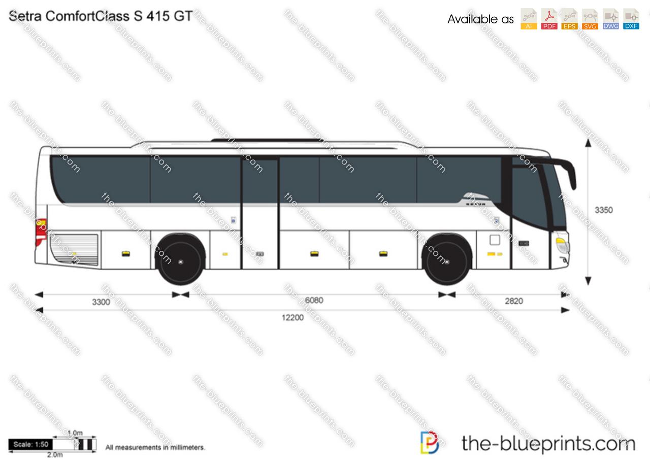 Setra ComfortClass S 415 GT